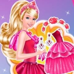 Jogo Vista e maquie a Barbie bailarina