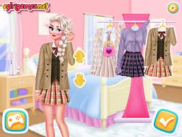 Vista Princesas estilo Estudantes Asiáticas - screenshot 2