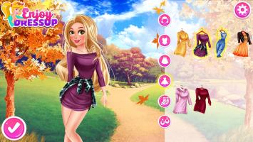 Vista Rapunzel na capa das Revistas - screenshot 2